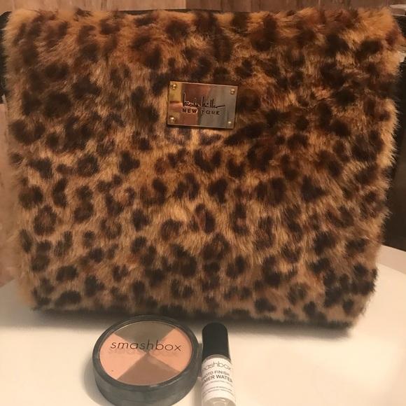 c9df0b704b26 Nicole Miller Makeup Bag with Smashbox cosmetics